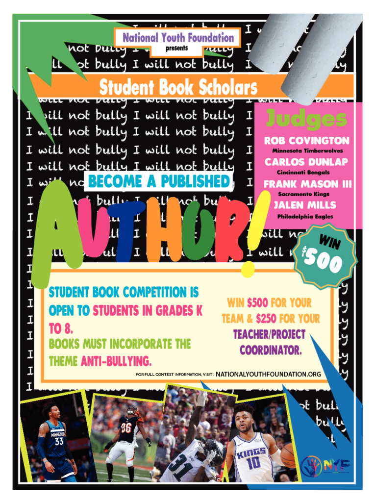 Student Book Scholar Contest - National Youth Foundation